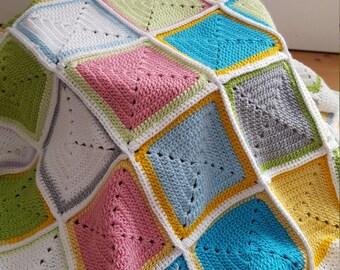 Unisex crochet handmade Baby blanket, crochet, baby yarn, soft baby blanket,newborn baby blanket