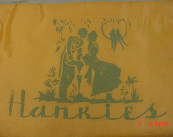 Vintage Handkerchief Hankies Holder  17 - 418