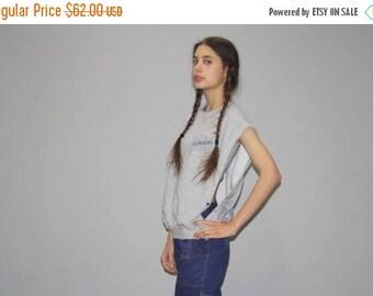 On SALE 40% Off - 1980s Vintage Gray Open Side Fordson Sweatshirt  - Vintage 80s  Sweatshirt  - 80s Sweatshirts - WT0431
