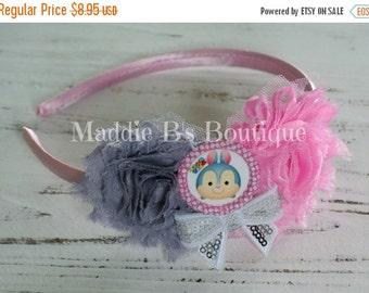 CLOSING SALE Tsum Tsum headband-Disney headband-accessories flower headband-made by Maddie B's Boutique