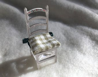 Dolls House Luxury Dressed 1/24th Chair - NEW SPRING 2017