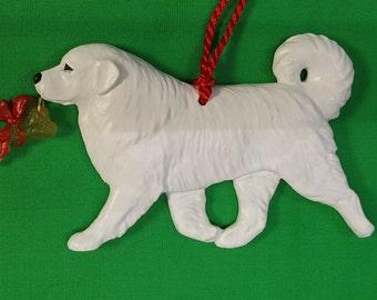 Great Pyrenees Dog Christmas Ornament