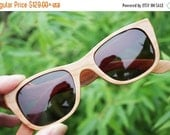 ON SALE world's Lightest wood glasses only 20g Can be customized American Cherry Wood Walker Handmade Takemoto  prescription RX Sunglasses