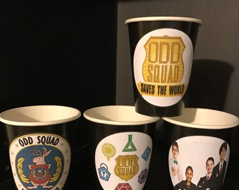 Odd Squad | Secret Agent Birthday Party Cups - 12