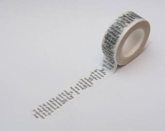 Washi tape Text