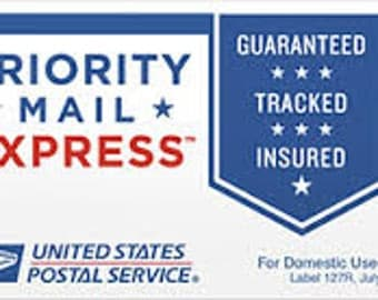 USPS Priority Mail Express upgrade (1-2 day delivery) -- ONE ITEM, United States only