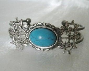 Turquoise Bracelet, boho jewelry turquoise jewelry gypsy jewelry bohemian jewelry hippie moroccan hipster bracelet new age boho bracelet