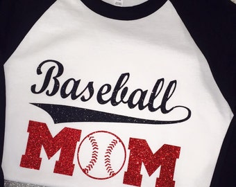 Baseball Mom Raglan