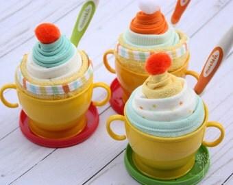 Baby shower gift idea, gift for gender neutral baby, baby shower favor, baby shower game prize, toddler gift idea, gift basket favor