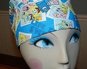 Sponge Bob  Life is Sweet  European Style  Surgical Scrub Cap with Toggle
