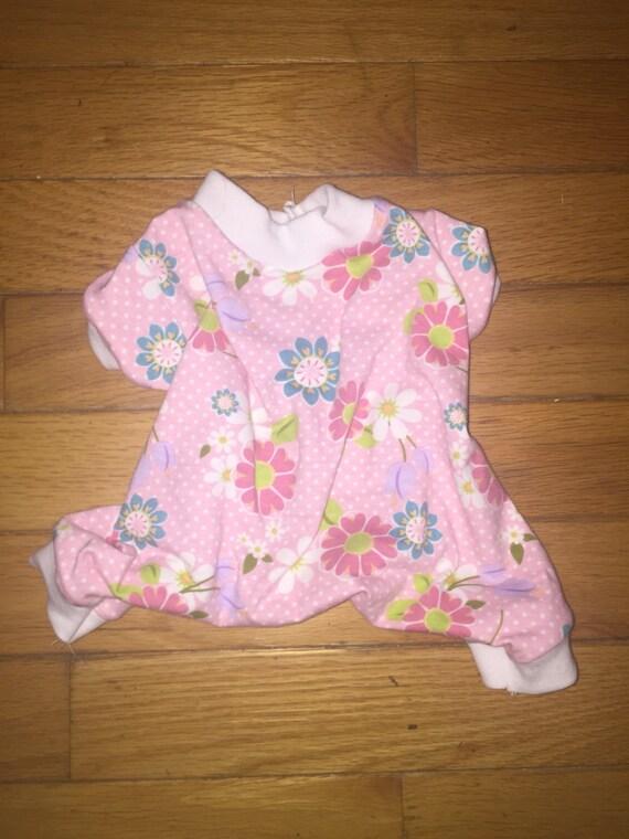 Teacup Pink Flower Pajamas