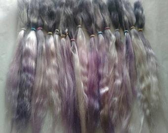 Doll Hair / BJD / MSD/ Minifee / Suri Alpaca / Combed Suri / Reroot /  Alpaca (3017)