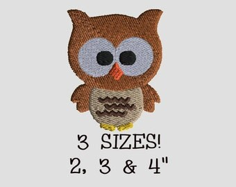 Buy 1 Get 1 Free! Owl Embroidery Design Owl Embroidery Pattern Animal Embroidery Design Mini Owl Small Owl Embroidery Bird Embroidery Design