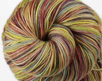 PRAGUE CASTLE: Superwash Merino - Fingering / Sock yarn - Hand dyed sock yarn - Variegated sock yarn - Indie dyed sock yarn - Merino yarn