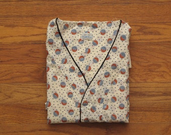 vintage pop over pajama shirt