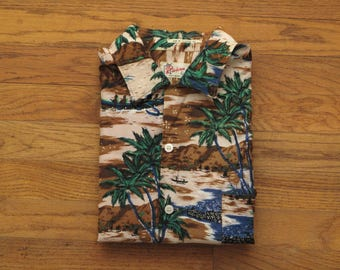 vintage Riviera aloha shirt