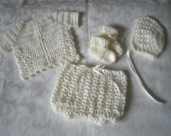 Vanilla Newborn / Reborn 4 Piece Set