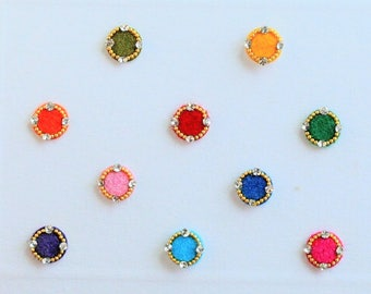 Bindi Pack, Indian Jewels, Flower Bindi, Bindis