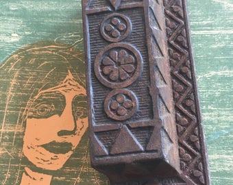 19th Century Cast Iron Bin Pull - DIY Altered Art Restoration - Old Hardware