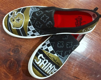 Custom Saints Shoes