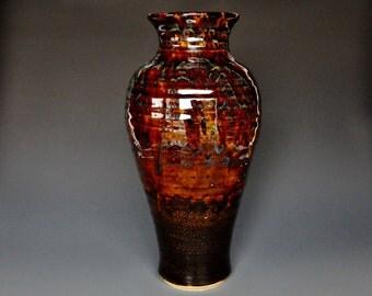 Tall Large Pottery Vase Stoneware Flower Vase Handmade Ceramic Vase Pottery B