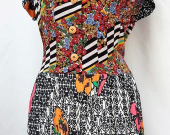 Tracy..a floral summer dress