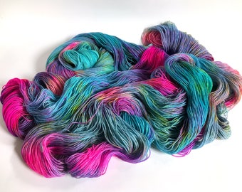 Tidal Sock Yarn.  Tunnel Vision