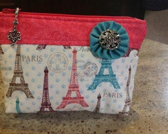 Essential Oil Storage Travel Bag Carrying Case Paris Eiffle Tower