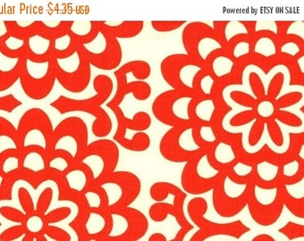 Christmas Sale Amy Butler Fabric - Half Yard of Wall Flower in Cherry