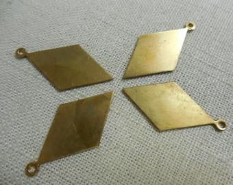 Brass Diamond Blank