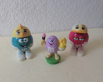 M & M Collectibles, One Topper and Three Candy Holders. (one with whirlybird hat not shown)