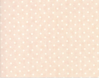 Poetry - Dots in Blush by 3 Sisters for Moda Fabrics