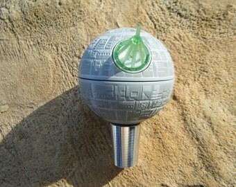 Beer Tap Handle Death Star for your kegerator draft beer tower star wars