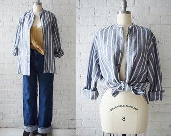 Striped Linen Field Shirt | Medium-Large