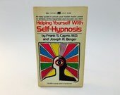 Vintage Occult Book Helping Yourself with Self-Hypnosis by Frank S. Caprio 1972 Paperback