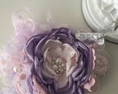 The royal princess flower headband cozette couture