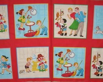 Little Helpers panel Quilting Treasures
