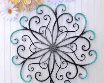 Metal wall art Etsy