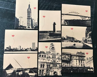 Milwaukee Wisconsin Lover's Boxed Note Card Set