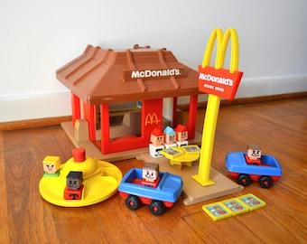 Playskool McDonalds Playset 1974