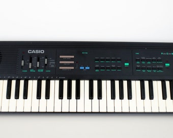 Vintage Casio MT-140 Keyboard Midi Synthesizer Circuit Bending 1980s Excellent 210