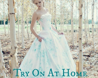 TRY ON SERVICE - Sample Dresses Available for At Home Try On