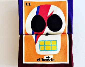 "Toddlers ""el.bowie"" (David Bowie) Sugar Skull Tee"