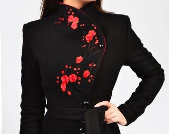 Luca jacket (black, white, navy, red)