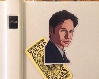 Fox Mulder X-FILES Fridge Magnet
