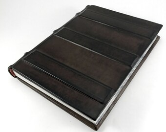 Coco Libro, bookbinding, leather journal, leather books, ledger, libro, leather-bound