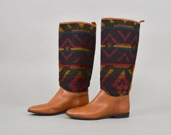UNISA Southwestern Tapestry Boots (US 8)