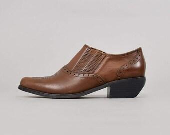 DINGO Western Ankle Booties (US 7)