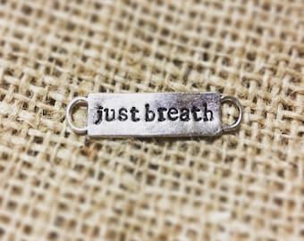 Just Breath Shoe Charm