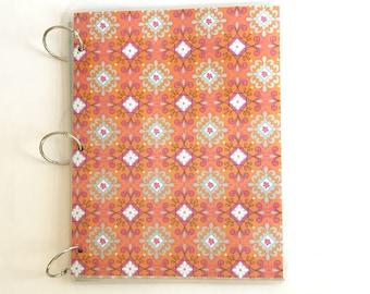 Notebook, 9 x 11 Binder, Loose Leaf Binder, Bridal Binder Planner, School Notebook, 3 Ring Binder Cover, Notebook Cover, Back to School